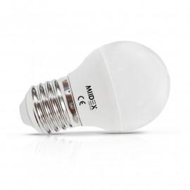 Ampoule LED E27 Bulb G45 Dimmable 6W 3000K