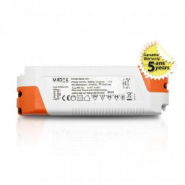 Alimentation pour LED 36W 34-60VDC Dimmable Coupure de phase