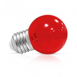 Ampoule LED E27 Bulb 1W Rouge