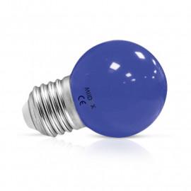 Ampoule LED E27 Bulb 1W Bleu