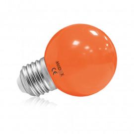 Ampoule LED E27 Bulb 1W Orange