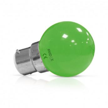 Ampoule LED B22 Bulb 1W Vert