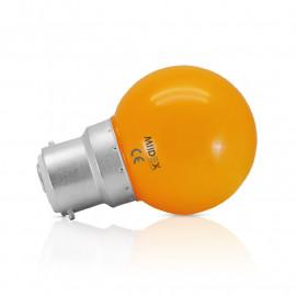 Ampoule LED B22 Bulb 1W Orange
