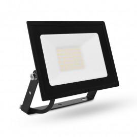 Projecteur LED Plat Gris 30W 3000°K IP65