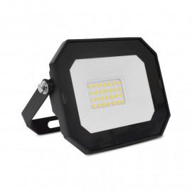 Projecteur Exterieur LED Plat Noir 20W 3000K sans câble
