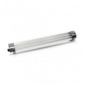 Tubulaire LED Intégrées Claire Traversant 40W 4800LM 3000°K 1250 x Ø80mm