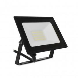 Projecteur LED Plat Noir 20W 4000K IP65
