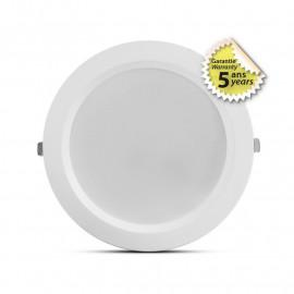 Spot LED fixe blanc rond 50-60W CCT GARANTIE 5 ANS