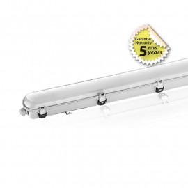 Boitier Etanche LED Intégrées 6000K 20-36W 1220 x 85 x 80 mm Garantie 5 ans