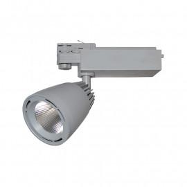 Spot LED sur Rail Gris 40W 4000°K