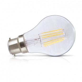 ampoule led b22 filament bulb 8w 2700 k. Black Bedroom Furniture Sets. Home Design Ideas