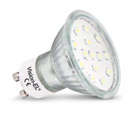 Ampoule LED GU10 dichroïque 4W 6000°K