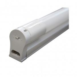 Tube LED T8 10W 4000K 600 mm + Support 180-265V