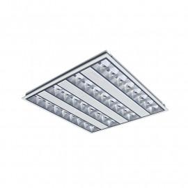 Plafonnier LED 230V  595 X 595 38 Watt Blanc 4000°K UGR 19 Basse luminance
