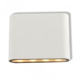 Applique Murale Rectangulaire LED 6W 3000°K Blanc IP54