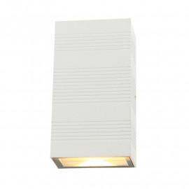 Applique Murale LED 2x5W 690 LM Rectangulaire 4000°K Blanc IP54