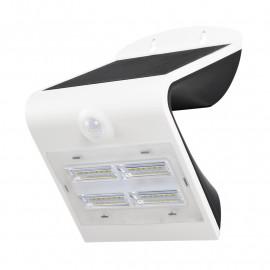 Applique Murale LED Solaire 3.2W 4000°K Blanc+ Détecteur