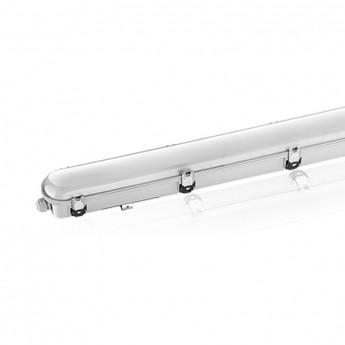 Boitier Etanche LED Intégrées traversant 4000°K 45W  4950 LM IP65 1200 mm